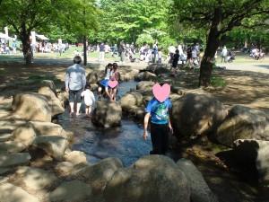 所沢航空記念公園 水遊び