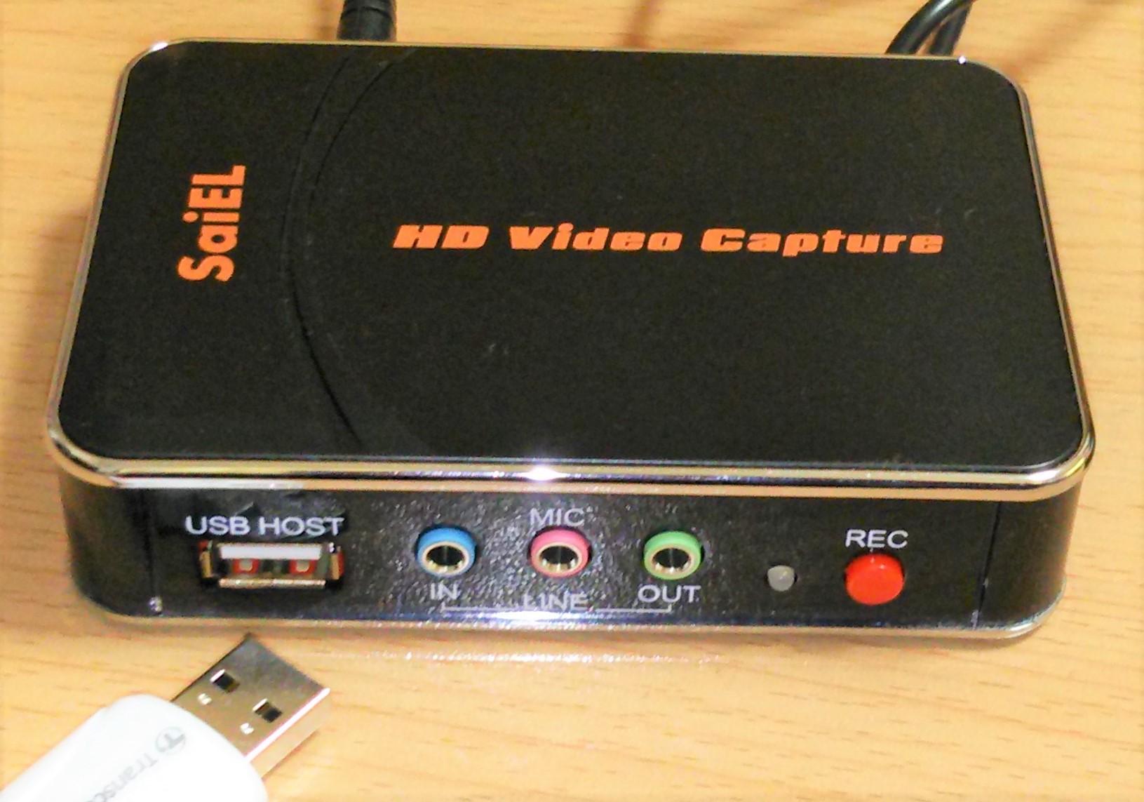ゲーム 録画機器