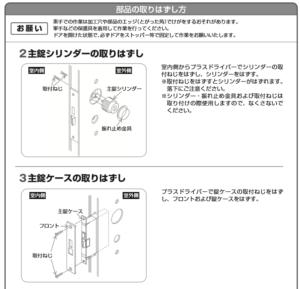 ラッチの修理方法