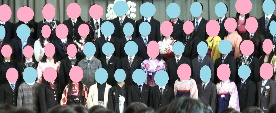 中学校 卒業式 服装