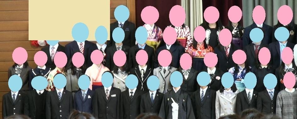 中学校 卒業式 袴