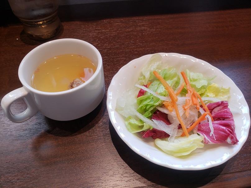 いきなりステーキ ランチスープ